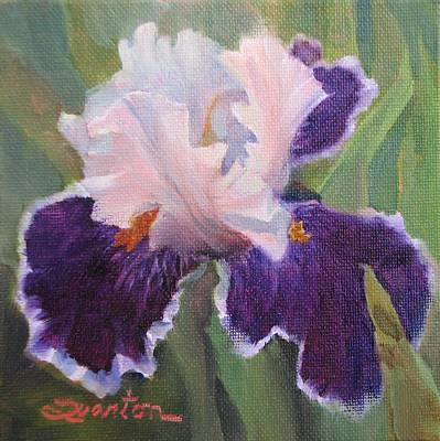 Painting - Iris View by Lori Quarton