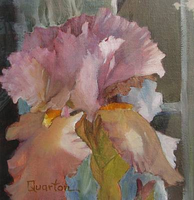 Painting - Iris Vision by Lori Quarton