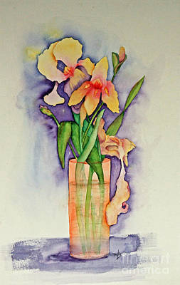 Painting - Irises by Terri Mills