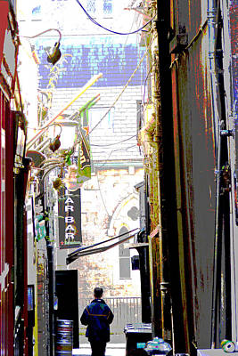 Photograph - Irish Alley Bar by Charlie Brock