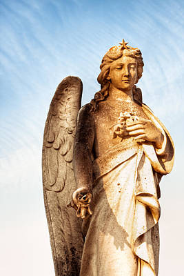 Photograph - Irish Angel In Dublin by Mark E Tisdale
