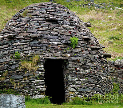 Photograph - Irish Beehive House by Patricia Griffin Brett