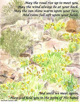 Painting - Irish Blessing by Linda Feinberg