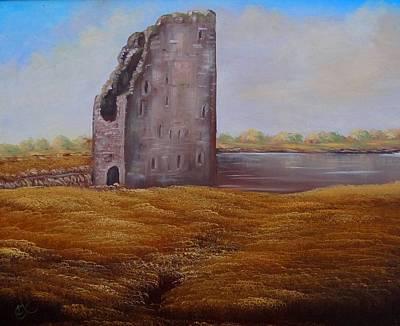 Irish Castle Art Print by Fineartist Ellen