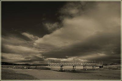 Photograph - Irish Causeway. by Terence Davis
