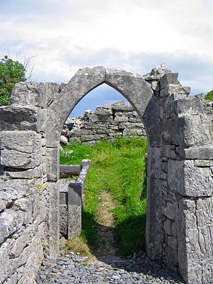 Photograph - Irish Church Ruins by Denise Mazzocco