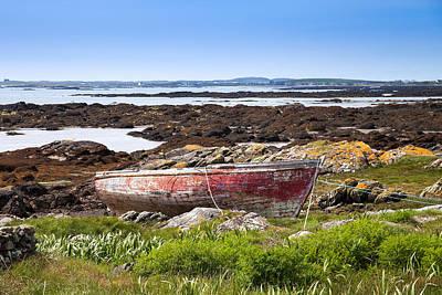 Art Print featuring the photograph Irish Coast Impression by Juergen Klust