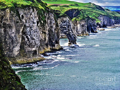 Photograph - Irish Coast by Nina Ficur Feenan