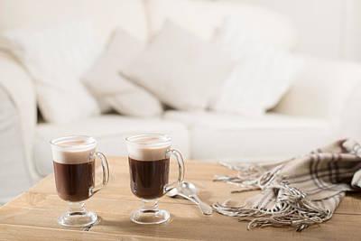 Woollen Photograph - Irish Coffee by Amanda Elwell