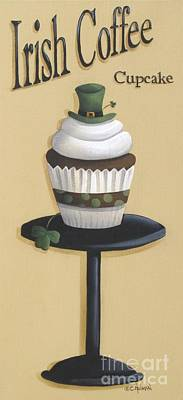 Irish Coffee Cupcake Original by Catherine Holman