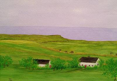Painting - Irish Cottage by Flo Markowitz