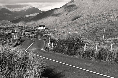 Photograph - Irish Country Road  by Pierre Leclerc Photography