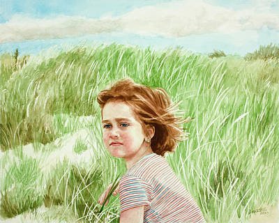 Painting - Irish Dunes by Kathryn Donatelli