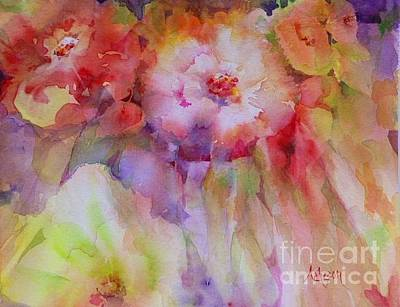 Painting - Irish Flowers by Donna Acheson-Juillet