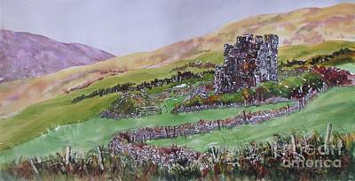 Painting - Irish-fortitude by Nancy Newman