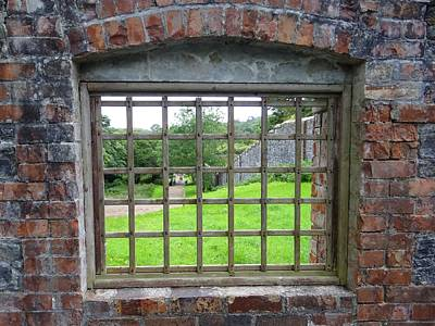 Photograph - Irish Garden Window by Keith Stokes