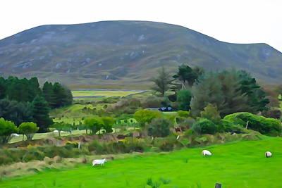 Pasta Al Dente - Irish Landscape by Charlie and Norma Brock