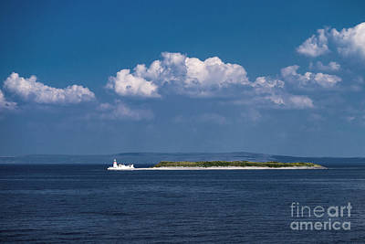 Irish Lighthouse  Art Print by Juergen Klust