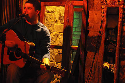 Photograph - Irish Musician by Rob Hemphill