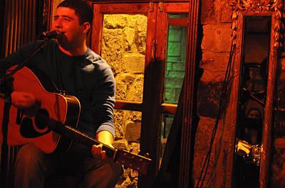 Photograph - Irish Musician by Rob Hemphill
