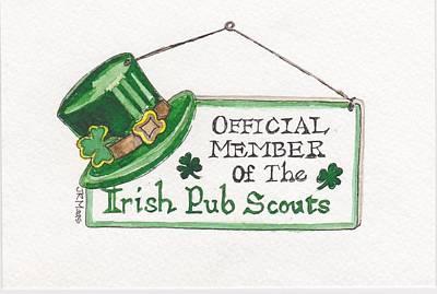Irish Pub Scouts Original by Julie Maas