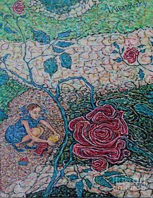 Painting - Irish Rose by Anna Yurasovsky