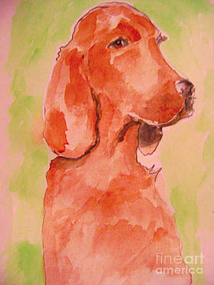 Painting - Irish Setter by Sidney Holmes