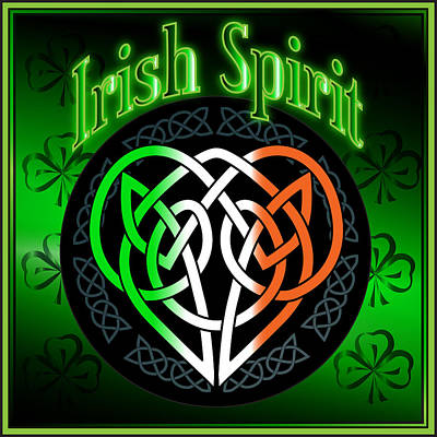 Digital Art - Irish Spirit by Ireland Calling