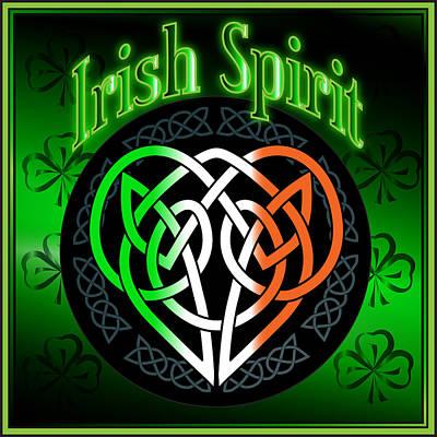 Digital Art - Irish Spirit by Ireland Calling