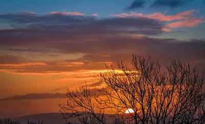 Photograph - Irish Spring County Clare Sunrise by James Truett