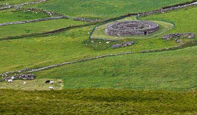 Photograph - Irish Stone Ring Fort by Jane McIlroy