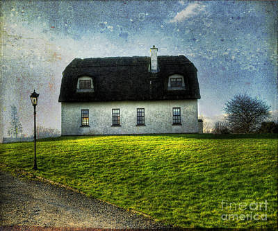 Irish Thatched Roofed Home Art Print by Juli Scalzi