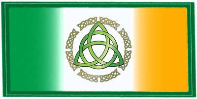 Digital Art - Irish Triquetra by Ireland Calling