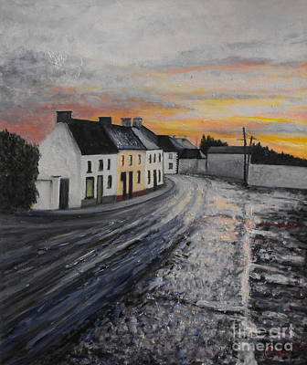 Rathvilly After The Rain Original by Caroline Cunningham