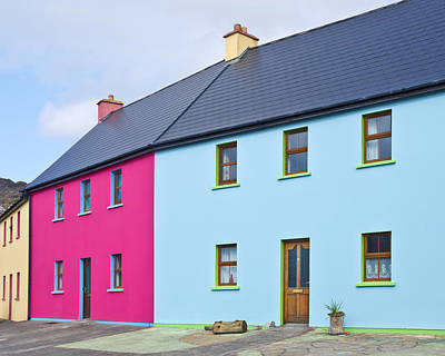 Photograph - Irish Village Houses by Jane McIlroy