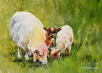 Painting - Irish_curiosity by Nancy Newman