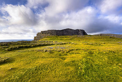 Photograph - Iron Age Ruins Of Dun Aengus On The Irish Coast by Mark E Tisdale