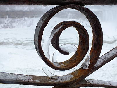 Photograph - Iron And Ice by Peggy King