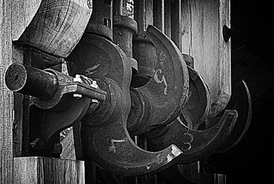 Photograph - Iron And Wood by Mick Burkey