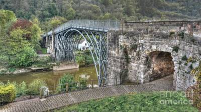 Coalbrookdale Photograph - Iron Bridge by Mickey At Rawshutterbug
