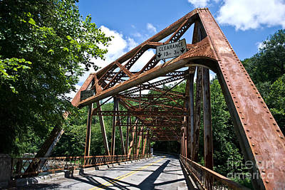 Iron Bridge Art Print by Pittsburgh Photo Company