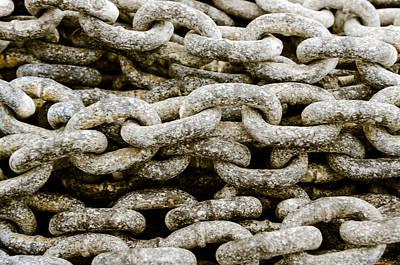 Photograph - Iron Chains. by Slavica Koceva