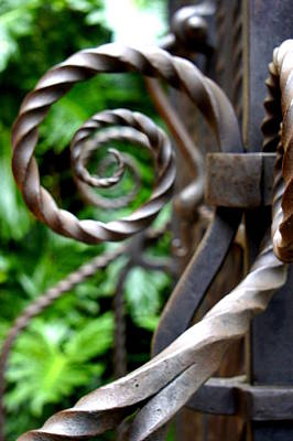 Photograph - Iron Circles by Laurie Perry