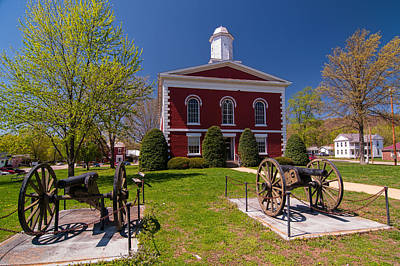 Ozarks Photograph - Iron County Courthouse by Steve Stuller