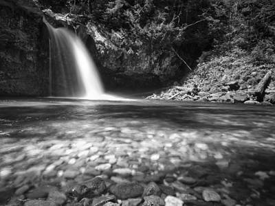 Iron Creek Falls Art Print
