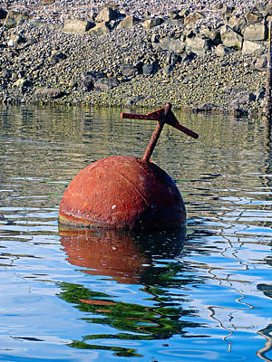 Photograph - Iron Float by Robert Meyers-Lussier