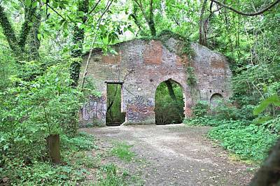 Photograph - Iron Foundry Ruins by Gordon Elwell