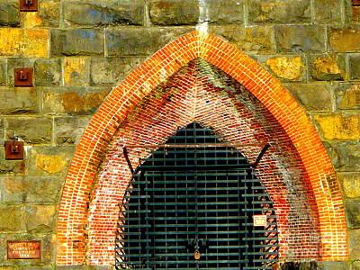 Photograph - Iron Furnace Stack  by Susan Garren