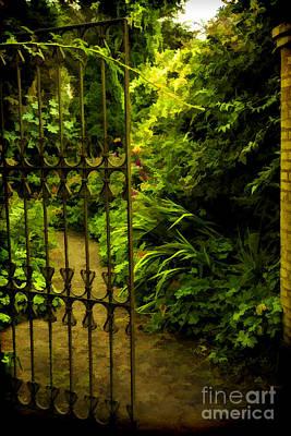 Peaceful Garden Art Print