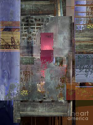 Digital Art - Iron Gate by Ursula Freer